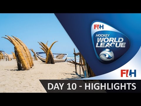 2016 Hockey World League Round 1 - Chiclayo (PER) - Day 10 HIGHLIGHTS
