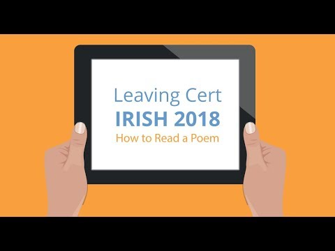 Leaving Cert Irish - Oral Exam Poetry Readings