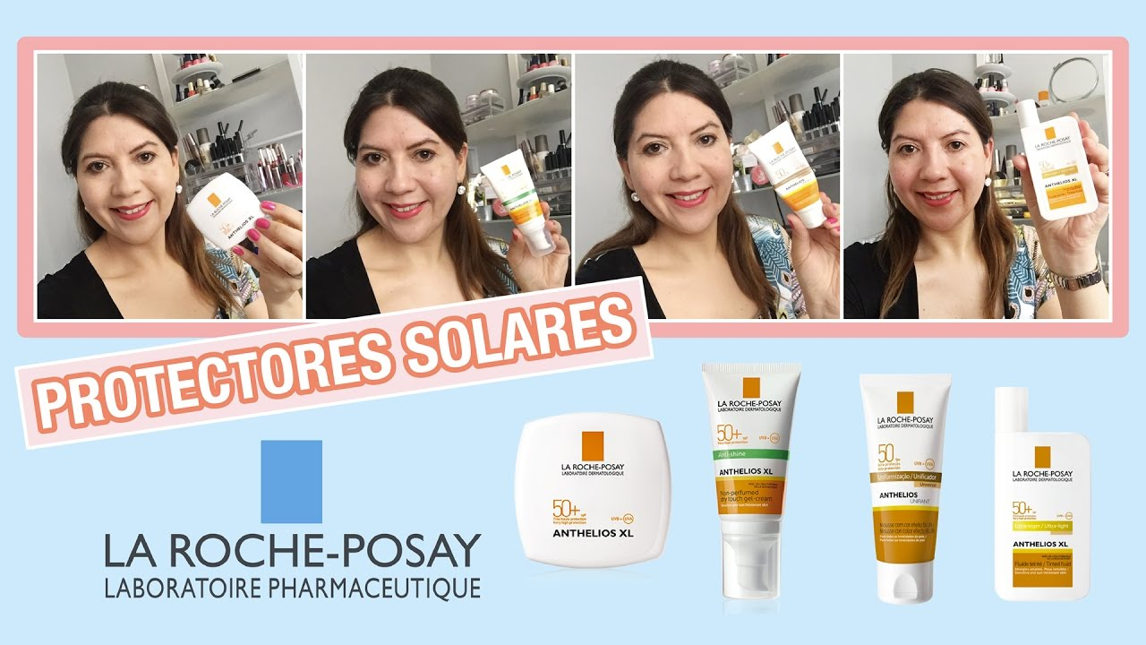 Review y Demo de Protectores Solares de La Roche Posay