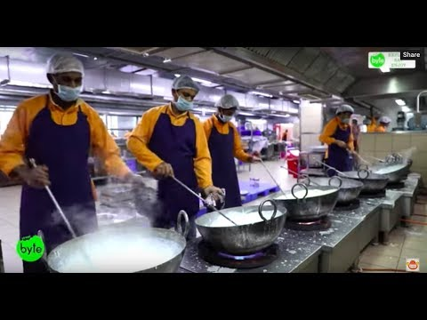 Hygienic Sweets Making in Hyderabad | Automated Kitchen |Almond House
