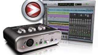 самый полный обзор и тест Avid M-Audio Fast Track 2