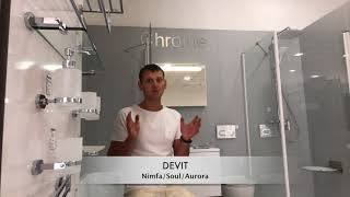 DEVIT _SOUL_NIMFA_AURORA-Обзор душевых кабин от MYstore-Ukraine