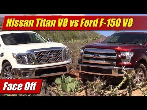Face Off: Nissan Titan V8 vs Ford F-150 V8
