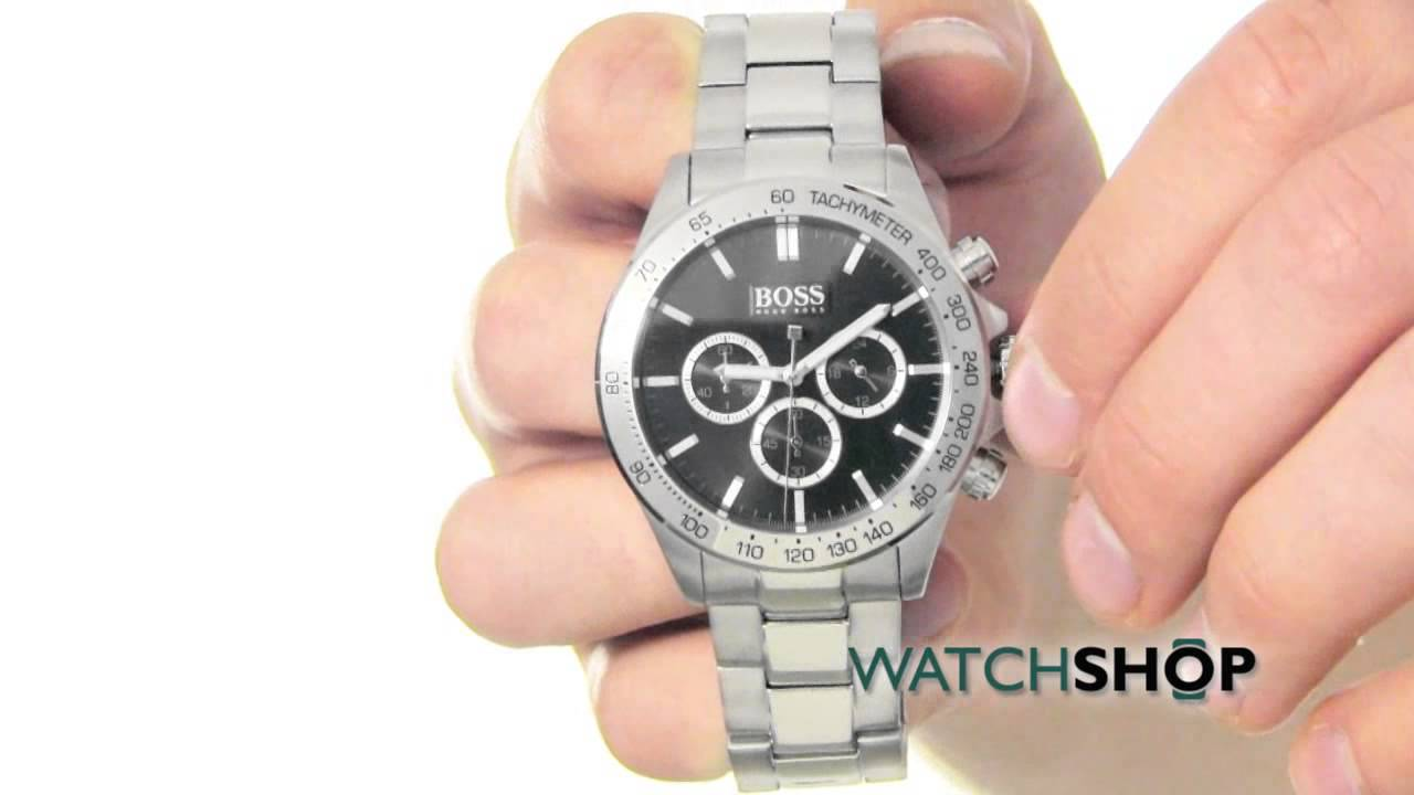 Hugo Boss Men s Chronograph Watch (1512965) - YouTube c313e73c6
