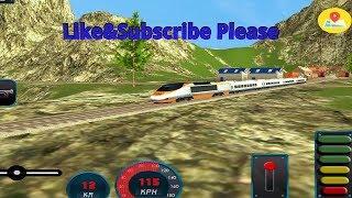 Modern Train Driving Simulator Mobile/Ipad Game