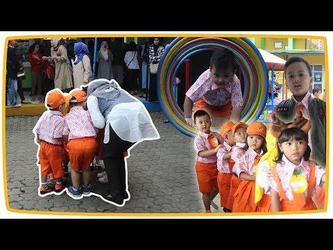 Hari Pertama Masuk Sekolah PlayGroup Kakang & Teman - Teman tk di Bandung