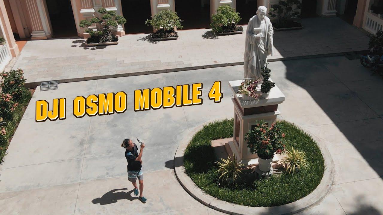 Nói sao cho NGẦU với GIMBAL ĐIỆN THOẠI này // DJI Osmo Mobile 4