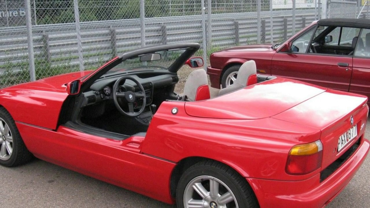 Must Watch Bmw Z1 Review The Doors And Chassis Youtube