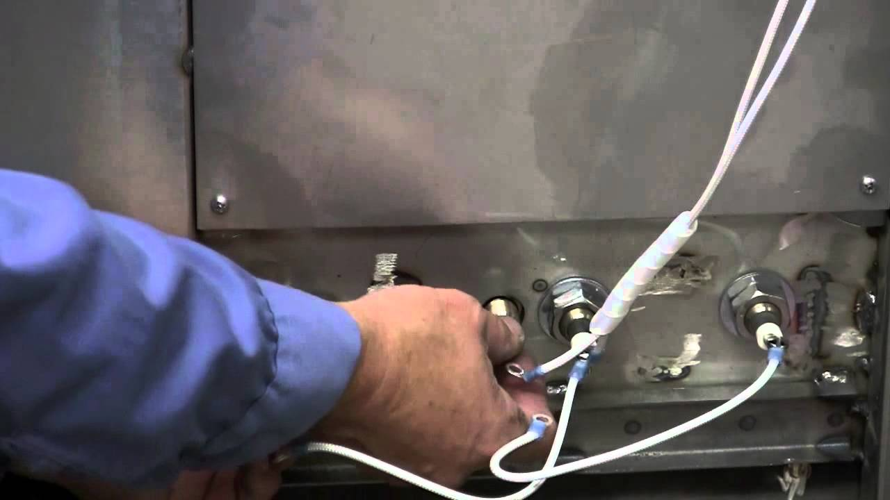 sm260- how to change a heating element