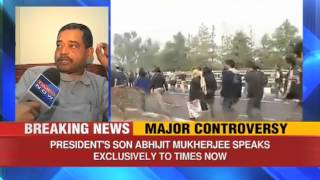 Abhijit Mukherjee justifies comment