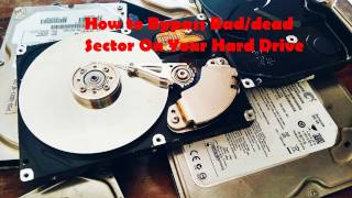 How to Repair, Bypass Bad/ded Sector On Your Hard Drive