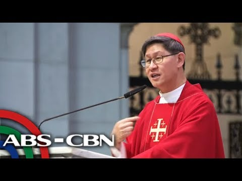 Tagle tells youth: Don't resort to bullying