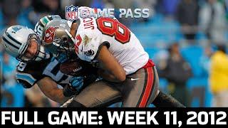 An NFC South Showdown! Tampa Bay Buccaneers vs. Carolina Panthers Week 11, 2012 Full Game