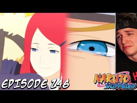 NARUTO MEETS HIS MOM! | Shippuden REACTION Episode 246 (The Orange Spark)