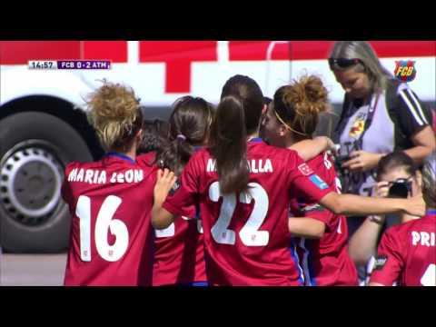 [HIGHLIGHTS] FUTBOL FEMENÍ (Final Copa de la Reina): FC Barcelona – Atlético Féminas (2-3)