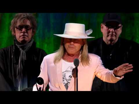 Cheap Trick - RnR Hall of Fame Acceptance Speeches - full, uncut