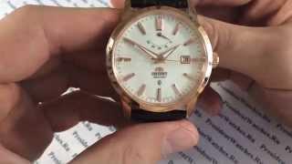 Часы с автоподзаводом Orient FD0J001W - видео обзоры часов от PresidentWatches.Ru