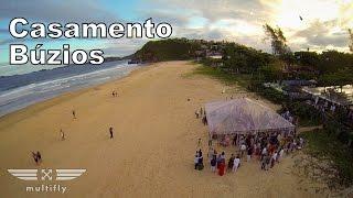 Casamento Búzios, Bruna e Ique - Praia de Geribá - Multifly