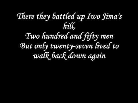 Johnny Cash - The ballad of Ira Hayes lyrics