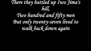 Johnny Cash - The ballad of Ira Hayes lyrics