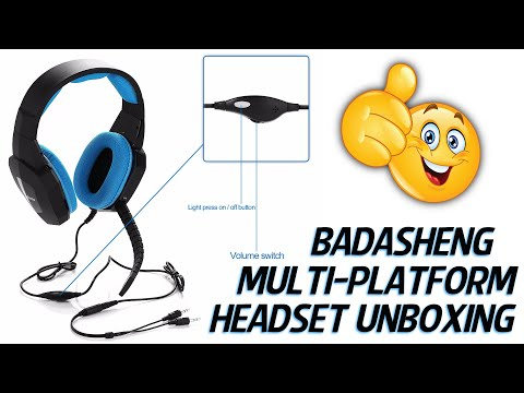Bedasheng Multi Platform Headset Unboxing