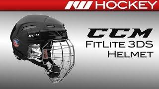 CCM FitLIte 3DS Helmet Review