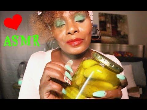 Pickle ASMR Soft Spoken Tap/Devils SPIT