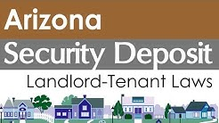 Arizona Security Deposit Laws for Landlords and Tenants