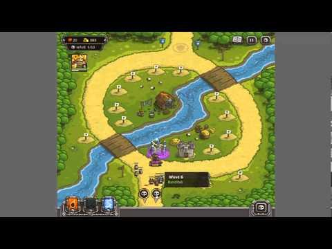 Играть онлайн в игру Kingdom Rush