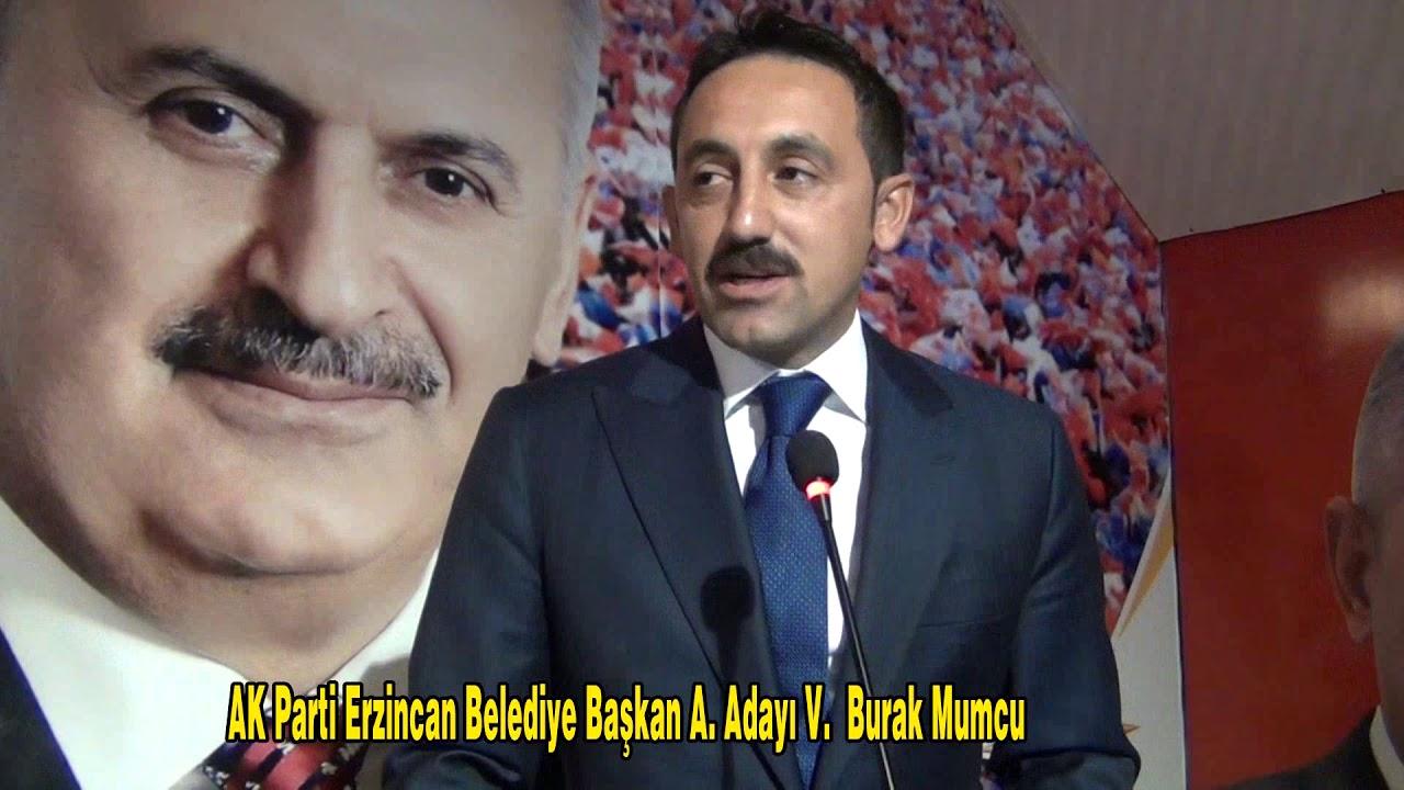 AK Parti Erzincan Belediye Başkan Aday Adayı Burak Mumcu