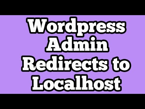 WordpressAdmin[ wp-admin ] Login of Live website redirects to Localhost