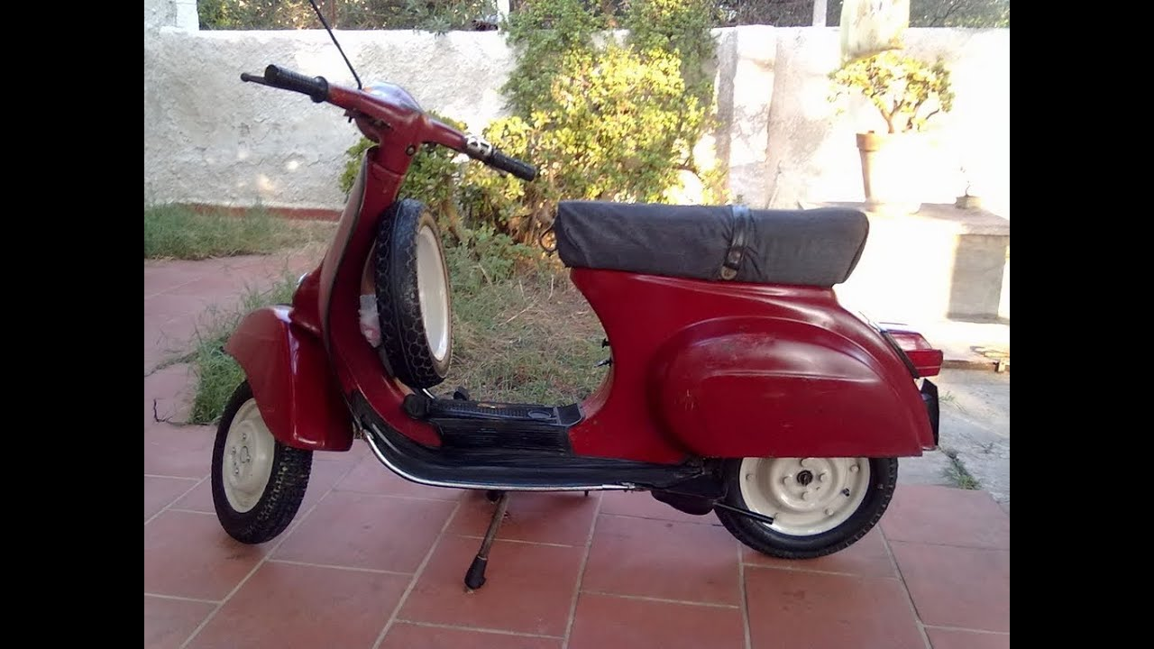 vespa 50 piaggio vespa 50 l del 1961 youtube. Black Bedroom Furniture Sets. Home Design Ideas