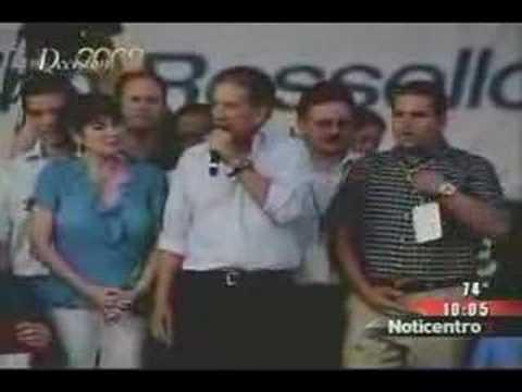 ROSELLO ACEPTA DERROTA - Reportaje de Televicentro
