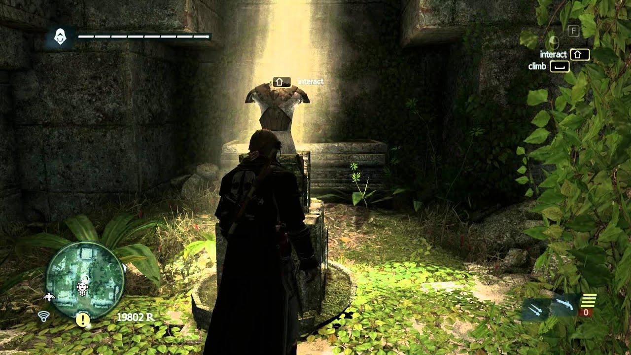 Assassin Creed 4 Mayan Outfit Secret Door The Door