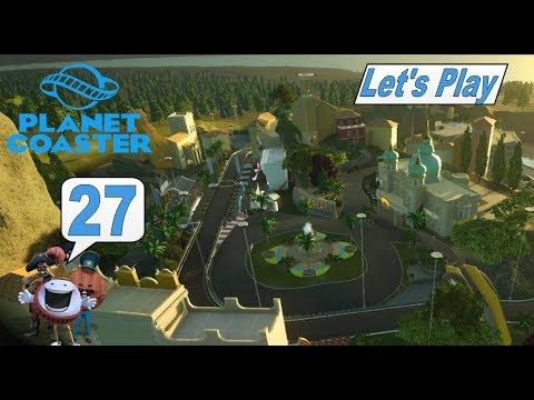 Planet Coaster #27 Ende gut alles gut und neuer Park mit Rennbahn #Achterbahn Simulator #deutsch #HD