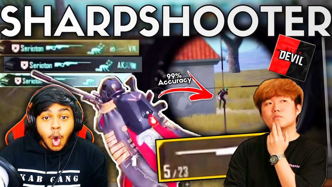 ATHENA GAMING SNIPER Accuracy GOD Slaydevil BEST Moments in PUBG Mobile