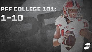 2018 Best Players in College Football: 1-10 | PFF College 101