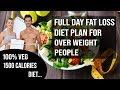 Full Day Vegetarian Fat Loss Diet Plan - Lose up to 12 Kg