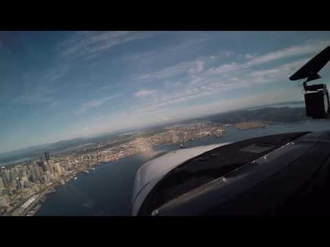 Puget Sound Aerial Tour: Mt. Rainier & the Seattle Waterfront