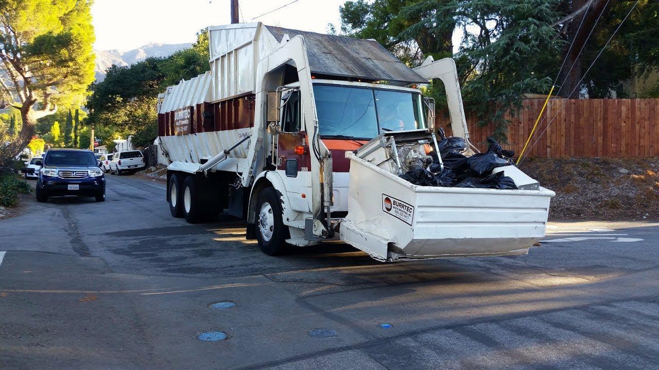 Burrtec Waste Services: La Crescenta-Montrose Cleanup (Pt.2) - YouTube