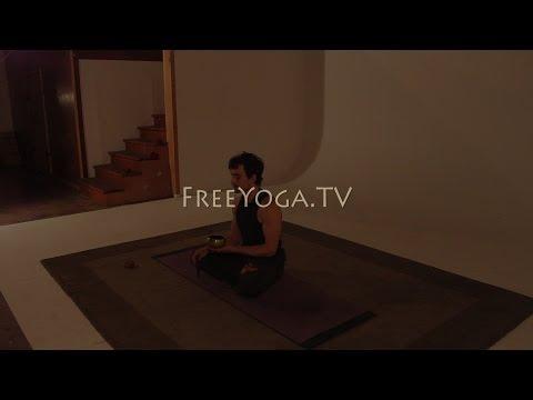 Full hr Intermediate Hatha Yoga Class, by Stephen founder of FreeYoga.TV