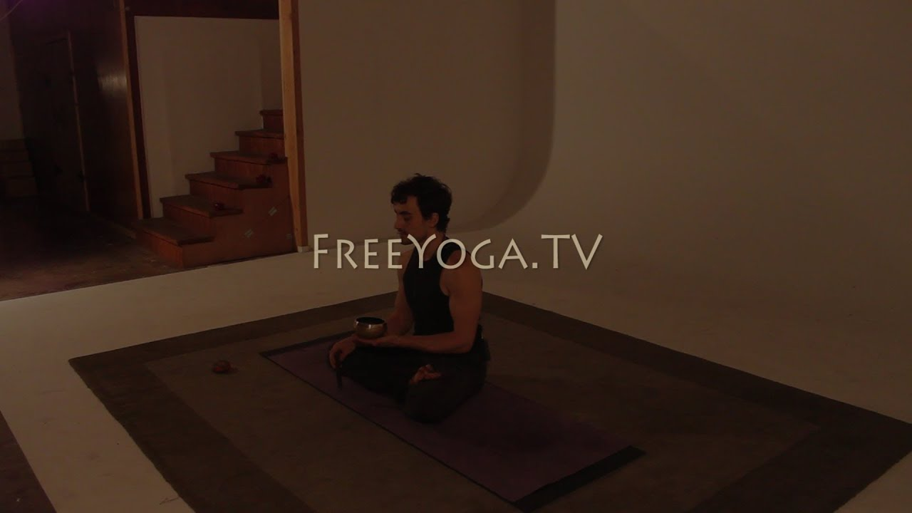 Full hr Intermediate Hatha Yoga Class, by Stephen founder of FreeYoga TV