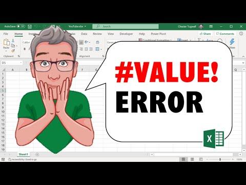 Excel's #Value! Error