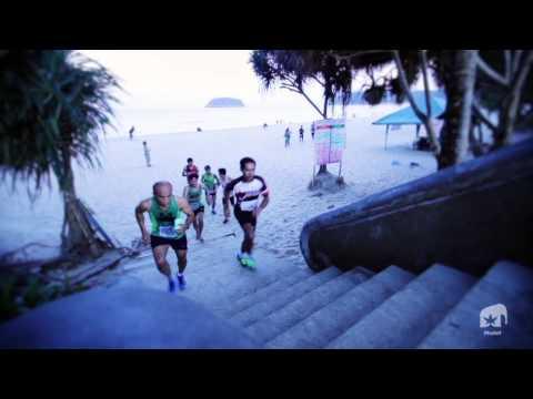Club Med Phuket, Mini Marathon On The Beach Of Kata - Karon