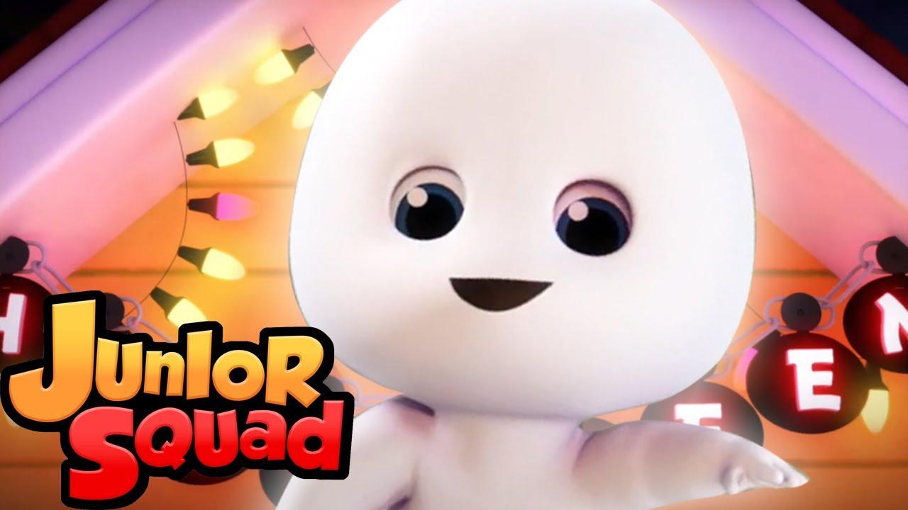 Ха ха Хэллоуин | музыка для детей | потешки | Junior Squad Russia | образовательные видео