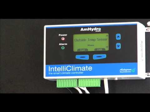 How To Install Peripherals on IntelliClimate Grow Room Climate Controller |  American Hydroponics