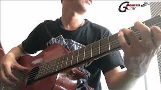 Hướng dẫn luyện ngón guitar theo carulli Bài 1 - Hợp âm rời 3 nốt full tab