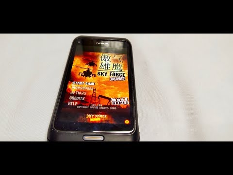 NOKIA Symbian Version Test With GAME 2020