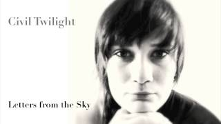 Civil Twilight - Letters from the Sky (cover)
