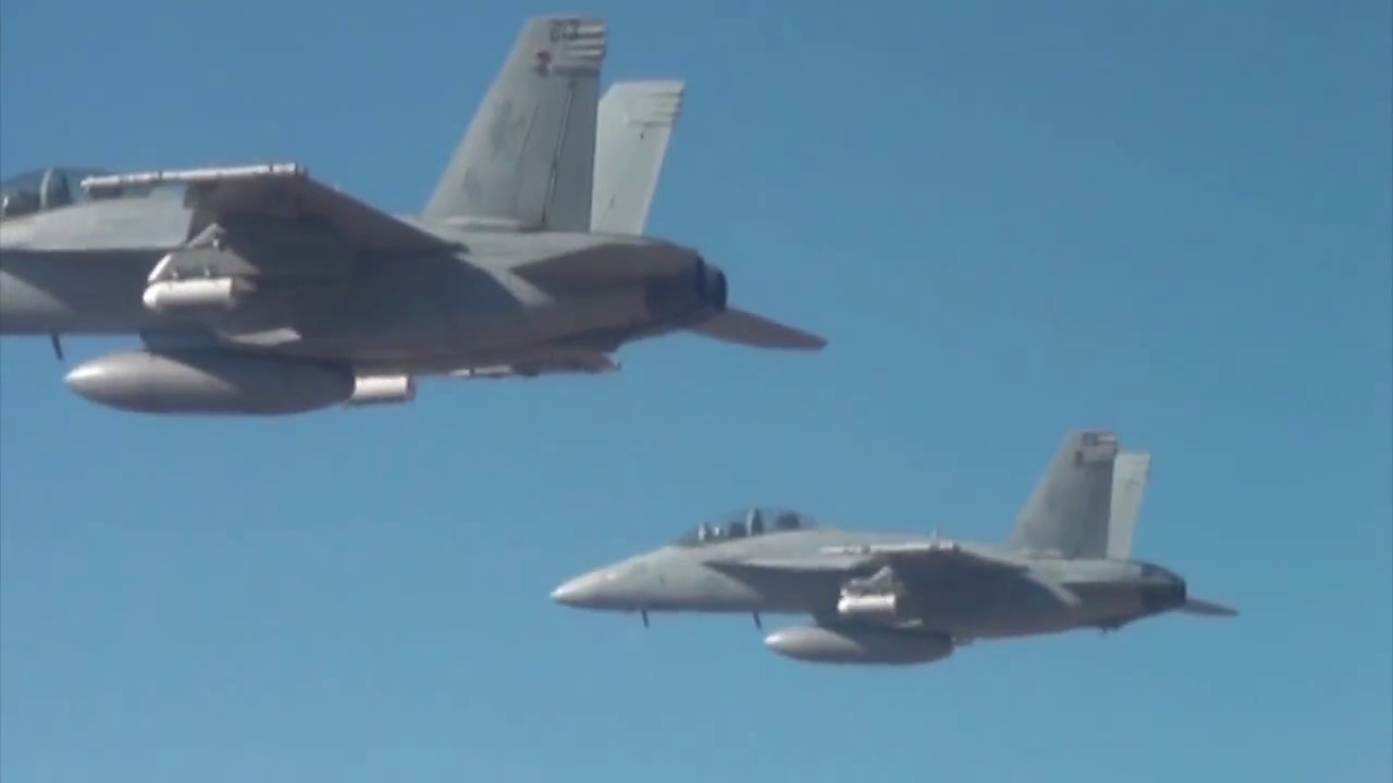 US Military F 18 Launch Drone Swarm In Tests At China Lake